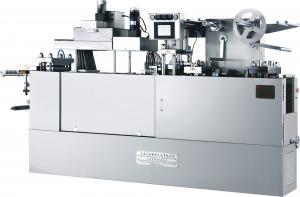 China 平らな版のタイプALU/ポリ塩化ビニールはおよびALU ALUパッキング機械GMPモデルに水ぶくれが生じます on sale