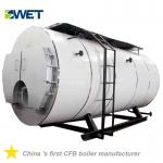 Automation 4 Ton Fire Tube Oil Gas Steam Boiler For Rice Mill , High Safety