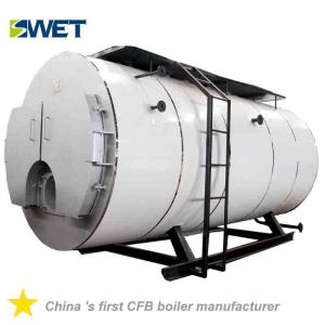 China Automation 4 Ton Fire Tube Oil Gas Steam Boiler For Rice Mill , High Safety on sale