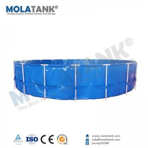 China Molatank Aquarium Inflatable Mini/Large 1000L 5000L10,000L Size Marine Fish Farming Tank with Good Quality on sale