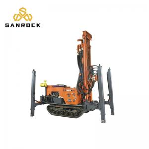 China 1300ft Crawler Drilling Rig 350M 400M  Flexible Hydraulic Rotary Drilling Rig on sale