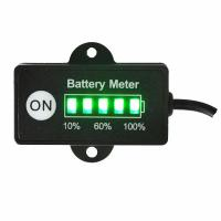 China DC 12/24 Volt 5 Segment LED Bar Graph Display Battery Indicator on sale
