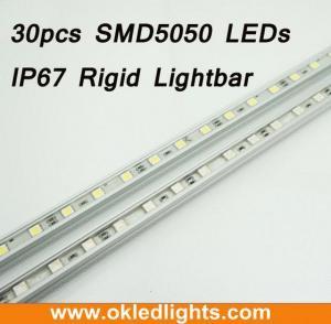 China 30LEDs SMD5050 IP67Aluminum Shell Rigid LED Light Bar on sale