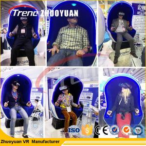 China Funny Games Amusement Park Equipment 9d VR Simulator 220V Electric System on sale