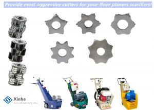 China Blastrac Scarifier Accessories 6pt Concrete Scarifier Replacement Cutters On Self Propelled Scarifiers on sale