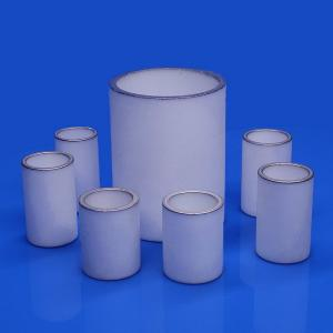 China Advanced Metallized Ceramic Tube , Ceramic Sleeve Precision Machining Rapid Prototyping on sale