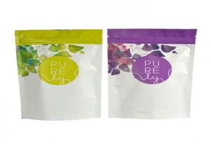 China Water Proof Aluminum Foil Packaging Bags With Zipper Strong Sealing on sale
