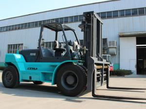 China Quick Smooth Lifting 16 Ton Forklift Warehouse Lifting Equipment FD160 on sale