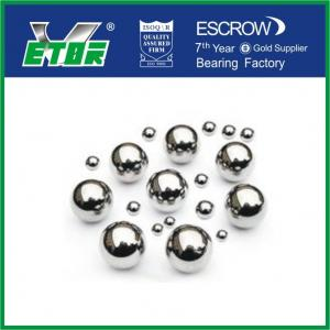 China High Temperature Chrome Steel Balls , Precision Solid Small Metal Balls on sale