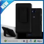 Cas protecteurs de téléphone portable du lux V830 de la lame G de la preuve ZTE de baisse avec Kickstand