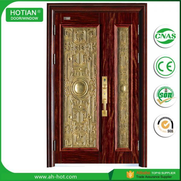 CE Luxury Steel Door Security Door Exterior Door Iron Door Metal Door  Popular For Overseas Market Images