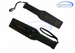 China ABS Multi Alarm Indication Metal Detector Hand Wand For Paper Pin Security Check on sale