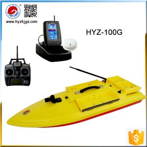 China HYZ Sea Fishing Rod GPS Tracking RC Bait Boat for Sales on sale