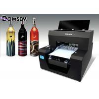 China Mini Glass Bottle A3 UV Flatbed Inkjet Printer , DIY UV Led Printer AcroRip9.0 Software on sale