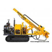 Hydraulic Photovoltaic Pile Hole Drilling Rig , Crawler Mounted Pile Hole Drilling Equipment