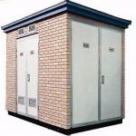 Outdoor Electrical Substation Box For High Rise Buildings / Temporary Construction