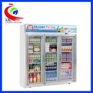China Upright Beverage Showcase Refrigeration Equipment Refrigerator Display Cooler on sale