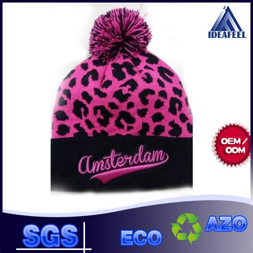d801da8d91297 Cool Unisex Winter Knit Pom Pom Beanie 100% Acrylic   Wool Fabric Available  Images