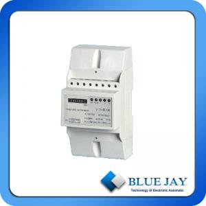 China LCD Display Three Phase DIN Rail smart energy meter with register on sale