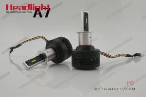 China Auto Parts H3 LED Headlight Bulb , 6000k - 6500K Car Automotive led headlights on sale