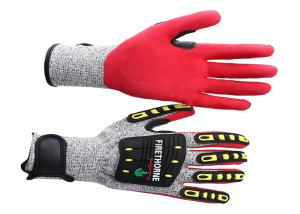 China TPR Anti Impact Gloves Unisex Gender , Workplace Heavy Duty Mechanic Gloves supplier