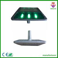 2015 hot sale road safety product solar energy led road marker lights