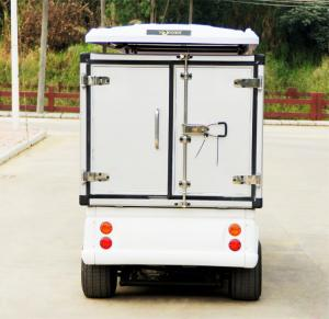 China Customized 48V Electric Car Golf Cart , 4 Passenger Low Speed Electric Vehicles on sale