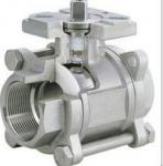 3-pc stainless steel ball valves full port 1000wog BSPP NPT ISO-5211 DIRECT MOUNTING PAD
