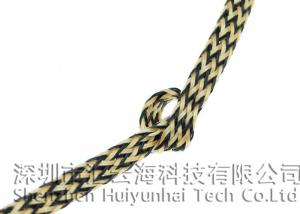 China Flame Resistant Electrical Braided Sleeving For Wiring Harness Loom Wire Cover on sale