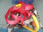 duplex flat webbing sling  ,   safety factor 7:1  , According to EN11492-1 Standard,  CE,G