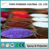 Garden Furniture Pure Epoxy Powder Coating RAL 1007 Daffodil Yellow Color