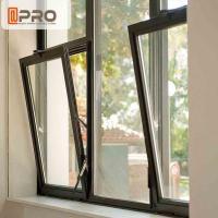 Space Saving Tilt And Turn Aluminium Windows With Single Glazing Glass