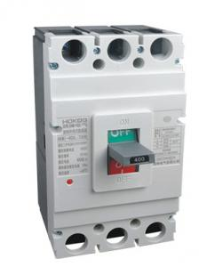 China Plastic Case AC 50Hz Moulded Case Circuit Breaker on sale