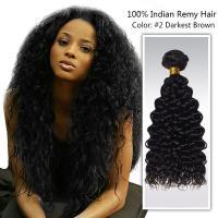 18 inch soft virgin indian remy hair / Unprocessed Human Hair Bundles