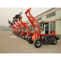 1.5T small wheel loader ZL15F with street sweeper