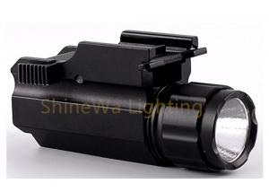 China Slide Switch Tactical Rail Mount Flashlight  Adjustable Tactical Flashlight With Laser on sale