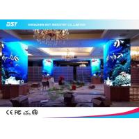 China Electronic P4 Curved Indoor Advertising LED Display 100000 Hours Lifetime For Big Mall on sale