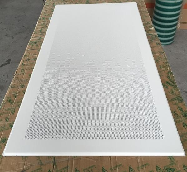 Perforated Aluminum Metal Soundproof Ceiling Panels Fire