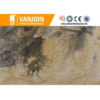Eco friendly Soft Decorative Stone Tiles , Flexible Stacked Stone Tile