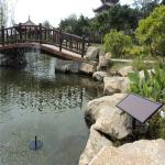 Brushless solar water fountain pump