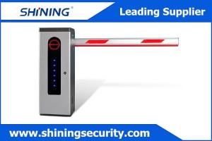 China Hall Sensors Control Parking Lot Barrier Gate With Automatic Shutdown Functions supplier