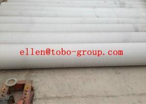 China 201 / 202 pulió la soldadura inoxidable de la tubería de acero para ASTM flúido A249 on sale