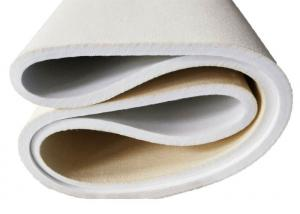 China ISO9001 Certified Heat Resistant Felt Smooth Surface Customized Circumference on sale
