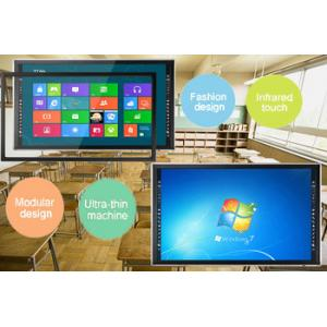 China Hight Resolution 84 Inch IR Multi Touch TFT Touch Screen LCD Monitor for Teaching, Present on sale