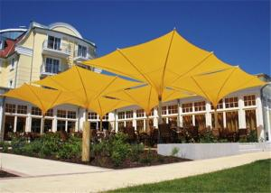 China Heavy Duty Tulip Umbrella Customized Shape UV Resistant For Beach Market on sale