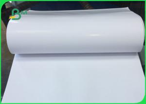 China One Side Coated C1s Art Paper / C1S Label Paper For Drinking Bottle Label Printing on sale