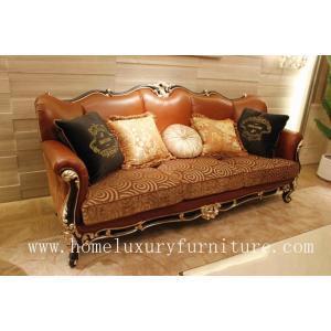 China Leather sofa classic furniture classic sofa italian classic sofa company lether sofa set on sale