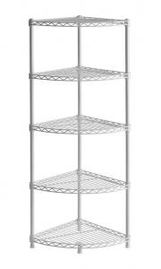 China Muscle Rack Bathroom Shelf Unit Open Structure With Durable Wired Shelving Design on sale