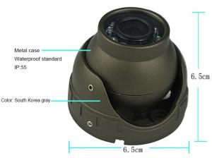 China Analog / AHD / IP Car Reverse Camera System With Night Vision Portable 140 Degree on sale
