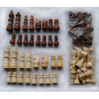 China 2.2 chess set 32pcs international chess pieces wood chess pieces high quality on sale